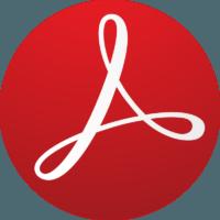 Adobe Reader PDF (логотип) фото