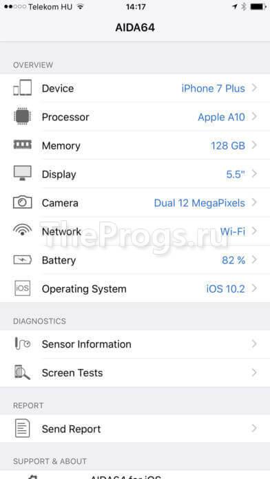 aida64 на ios (iPhone, iPad) (фото)