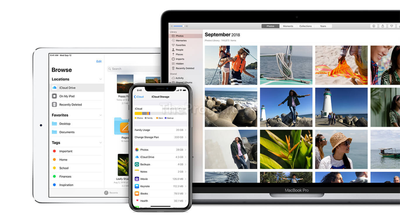 iCloud скриншот (фото)