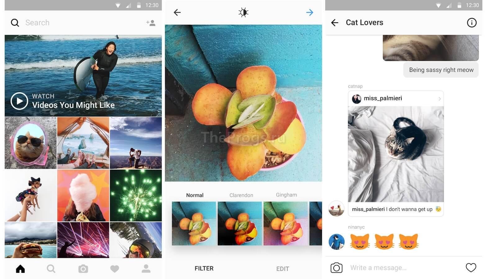 Instagram скачать на андроид бесплатно на телефон