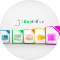 LibreOffice логотип (фото)
