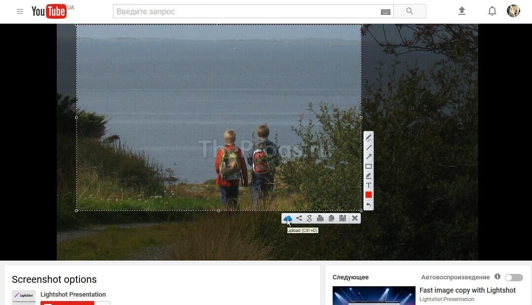 Lightshot скриншот (фото)