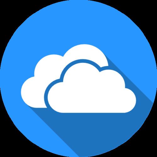 OneDrive облачное хранилище логотип (фото)