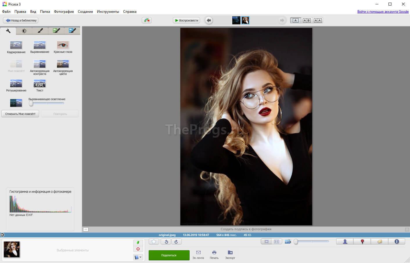 Picasa 3 скриншот (фото)