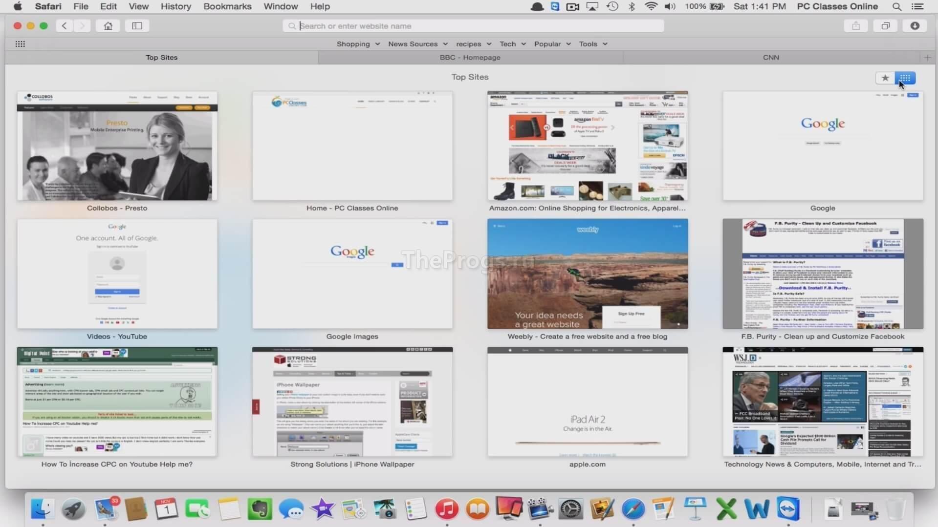 Safari скриншот (фото)