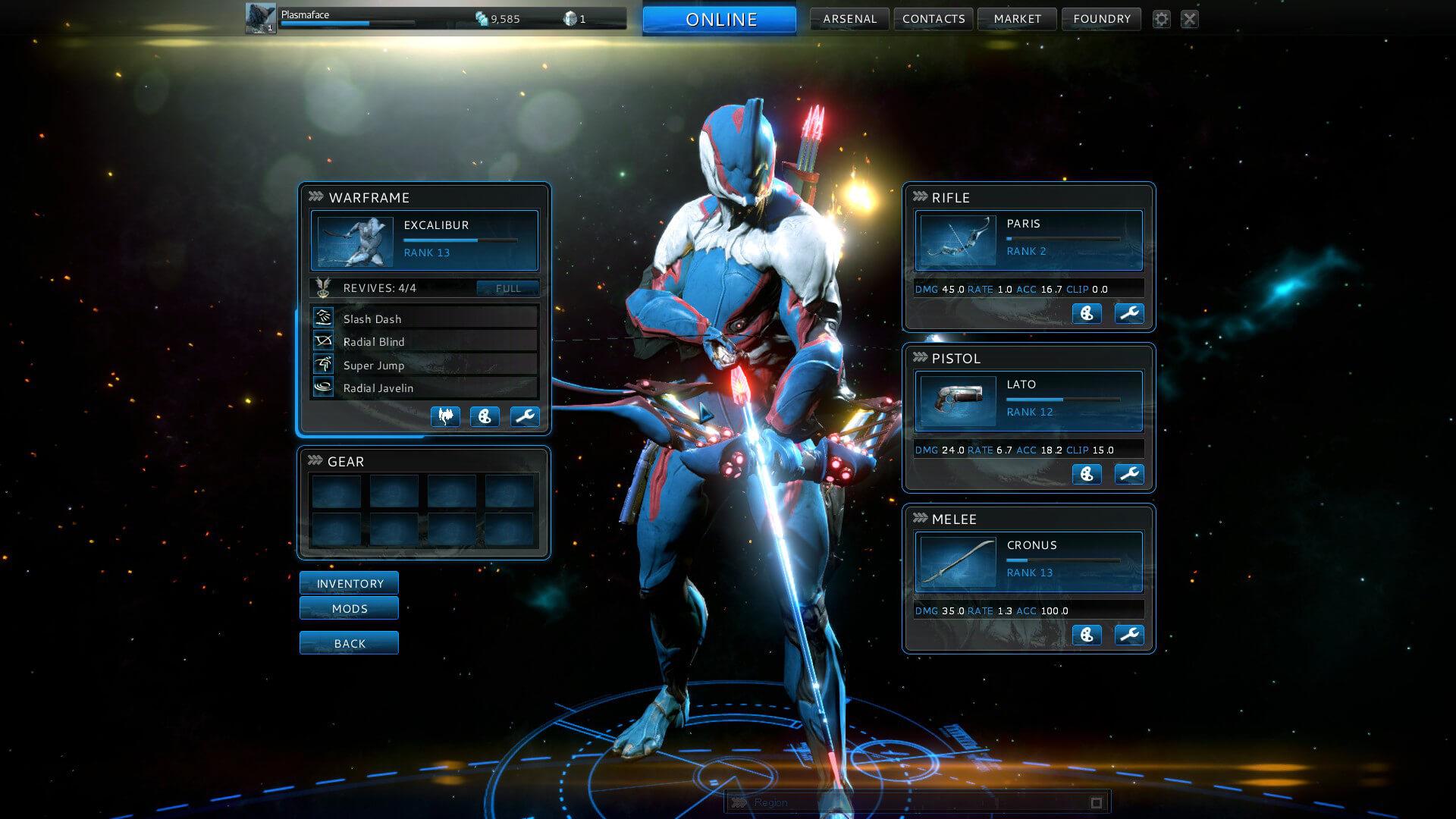 Warframe (игра, скриншот)